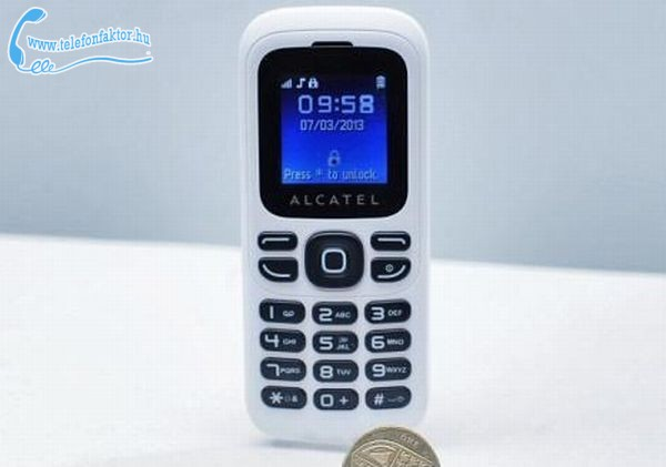 A világ legolcsóbb mobilja - One Touch 232