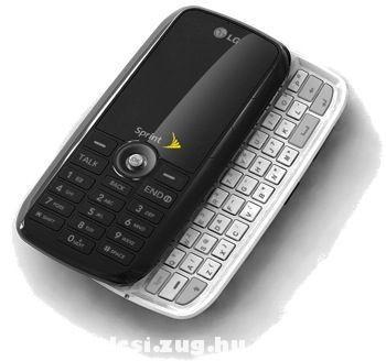 LG LX260-as szétcsúsztatható mobiltelefon