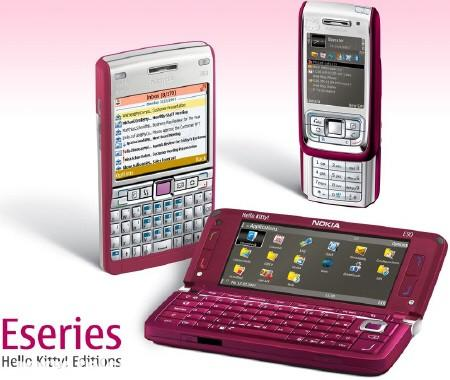 Nokia  Hello Kitty szupermobilok