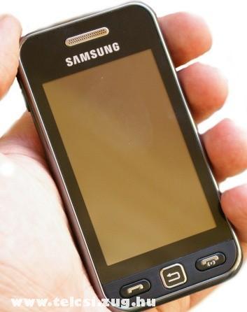 Samsung S5230 - tudja, hogy mit akarsz