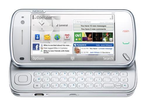 Nokia N97 a szuper telcsi