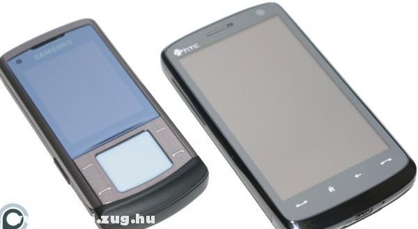 Öszehasonlítva a HTC Touch HD egy Samsunggal