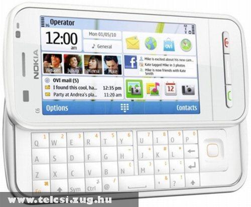 Nokia C6 2010 - 8 megapixeles kamerával