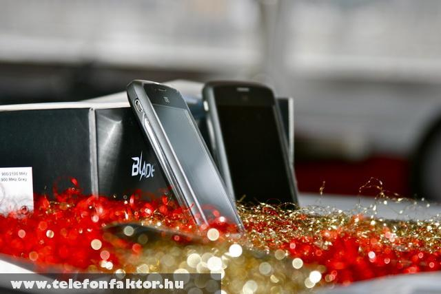 ZTE Karácsonyi csomagolásban