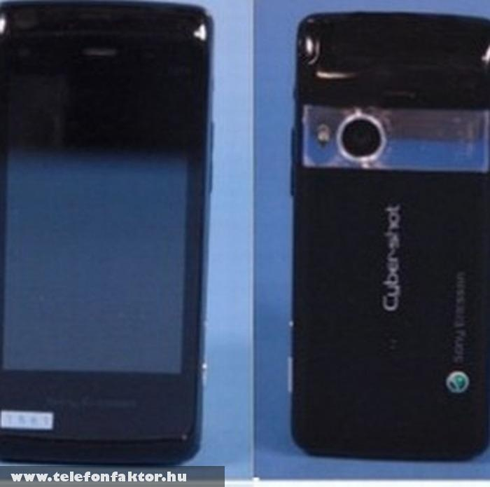 Sony Ericsson Cyber-shot S006 - 16 megapixeles kamerával