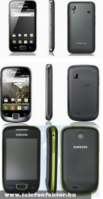 Galaxy Ace, Mini és Suit - három 2011-es mobil a Samsung-tól