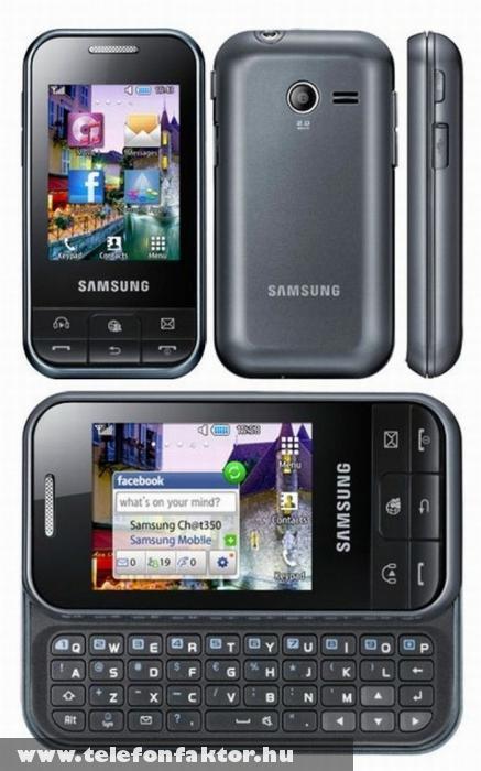 Samsung Ch@t 350 - QWERTY billentyûzettel