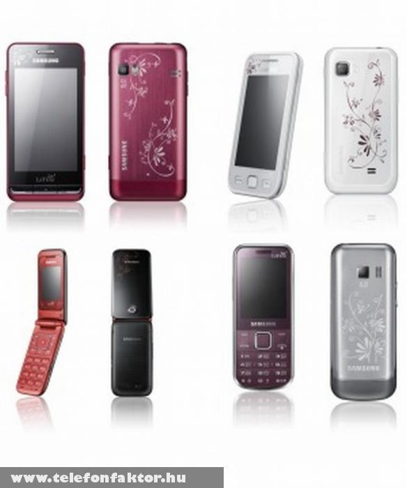 La Fleur kollekció - Samsung mobilok új köntösben