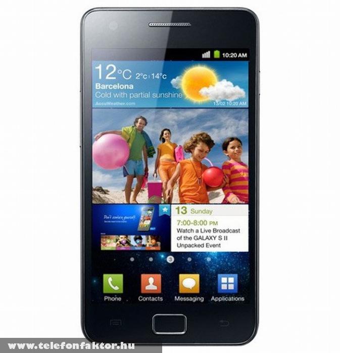 Galaxy S II - tuningolt Samsung csúcsmobil