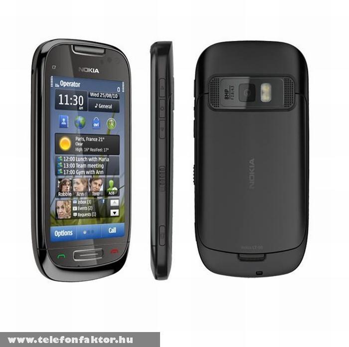 Nokia C7 - 8 megapixeles fixfókuszos kamerával