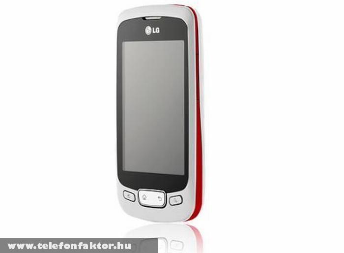 LG Optimus One P500 - 2.2-es Android operációs rendszerrel