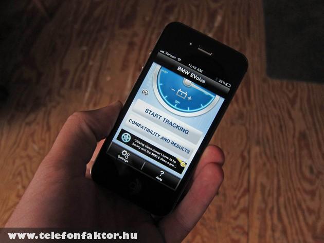 BMW és az iPhone talákozása