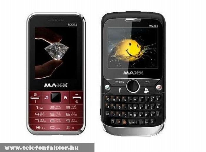MX372 és MQ368 - Két SIM-es mobilok Indiából