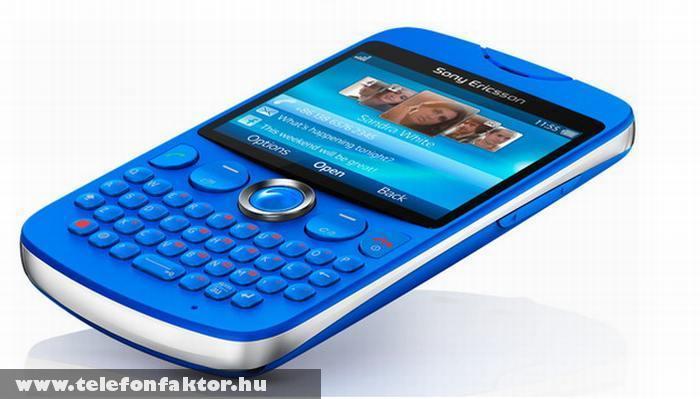 Sony Ericsson txt - QWERTY billentyûzet, WiFi