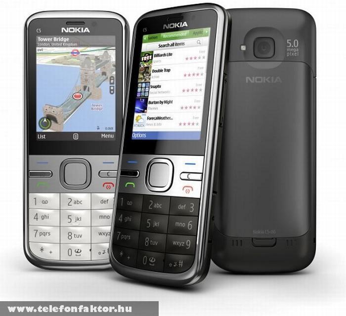 Nokia C5 5MP - 256 MB RAM-mal