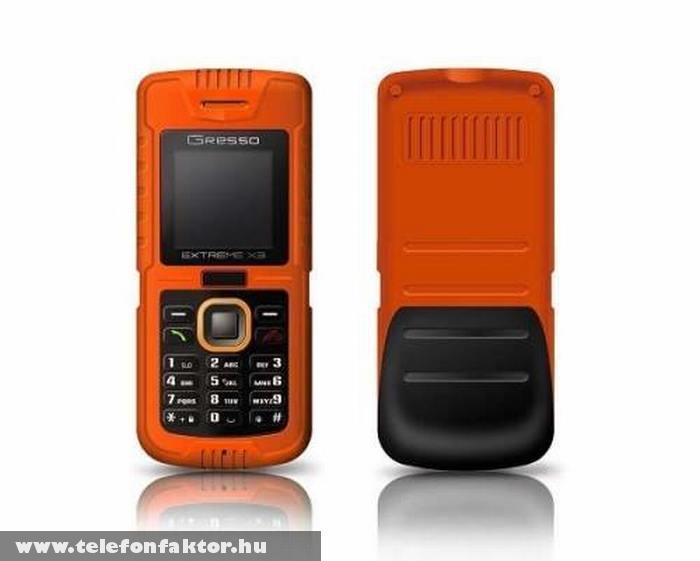 Gresso Extreme X3 - az igazán strapabíró mobil