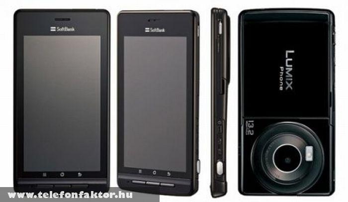 Panasonic Lumix - 13,2 megapixeles kamerával
