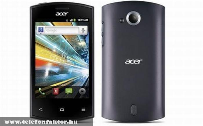 Acer Liquid Express - 800 MHz-es CPU-val
