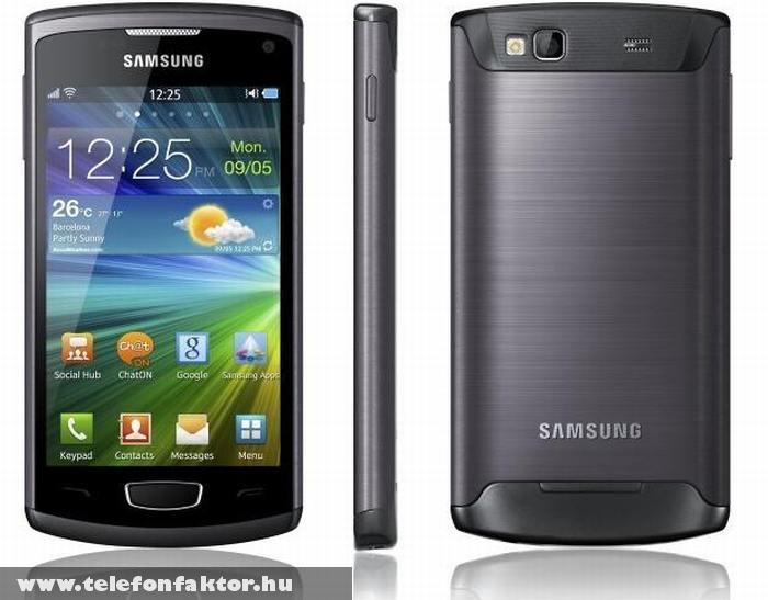 Samsung S8600 Wave 3 - HD kamerával szerelve