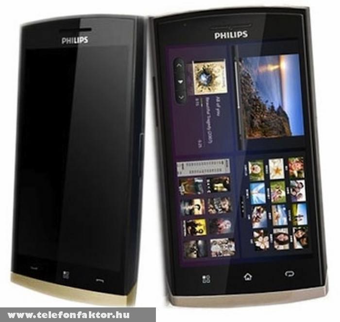 Philips W920 - Android 2.2. (Froyo) rendszerrel